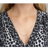 Blinckers Jewelry Huiscollectie BJ 1001932 Collier zilver Cartier schakel 60 cm klang en 3.25 mm breed