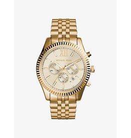 Michael Kors Michael Korse MK8281 horloge dames staal chronograaf goldplated