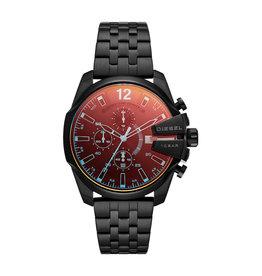 Diesel Diesel DZ4566 Horloge heren staal zwart plated chronograaf