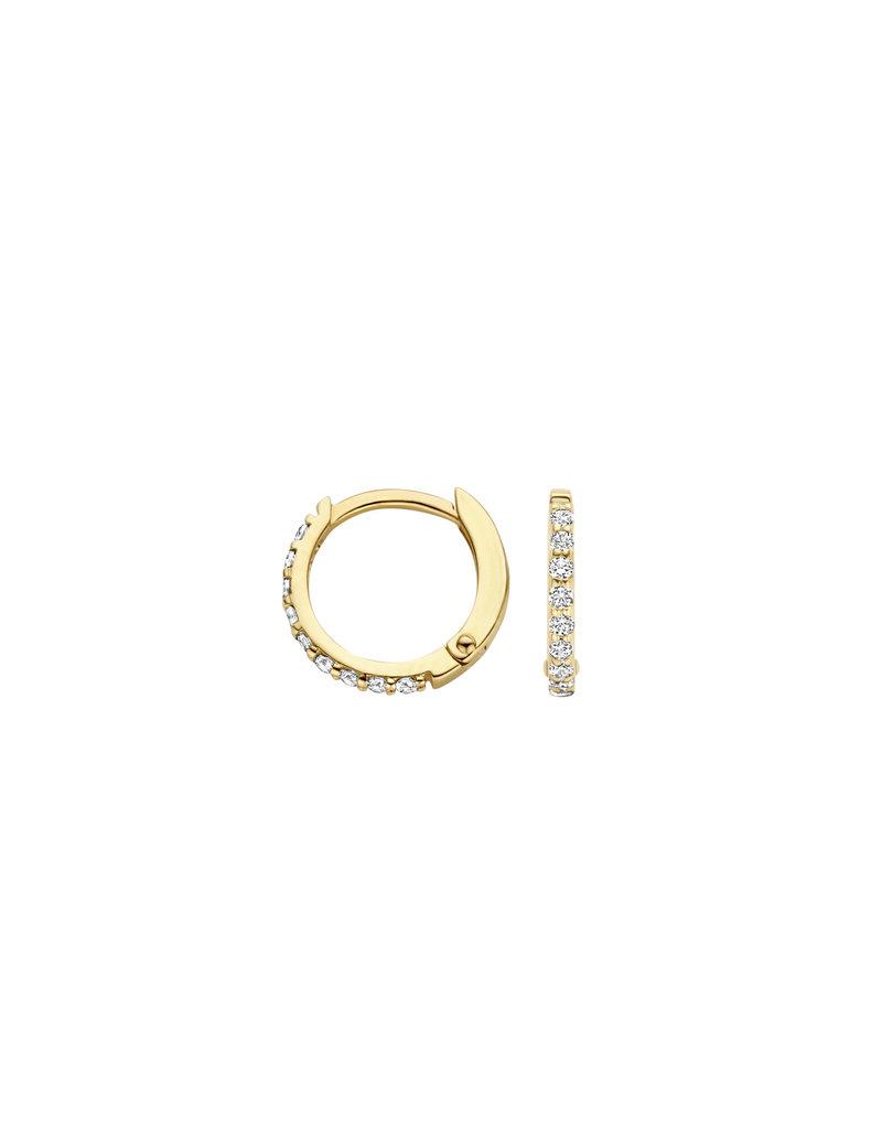 Blush Blush 7268YZI croelen vrouw 14 k geel goud met zirkonia