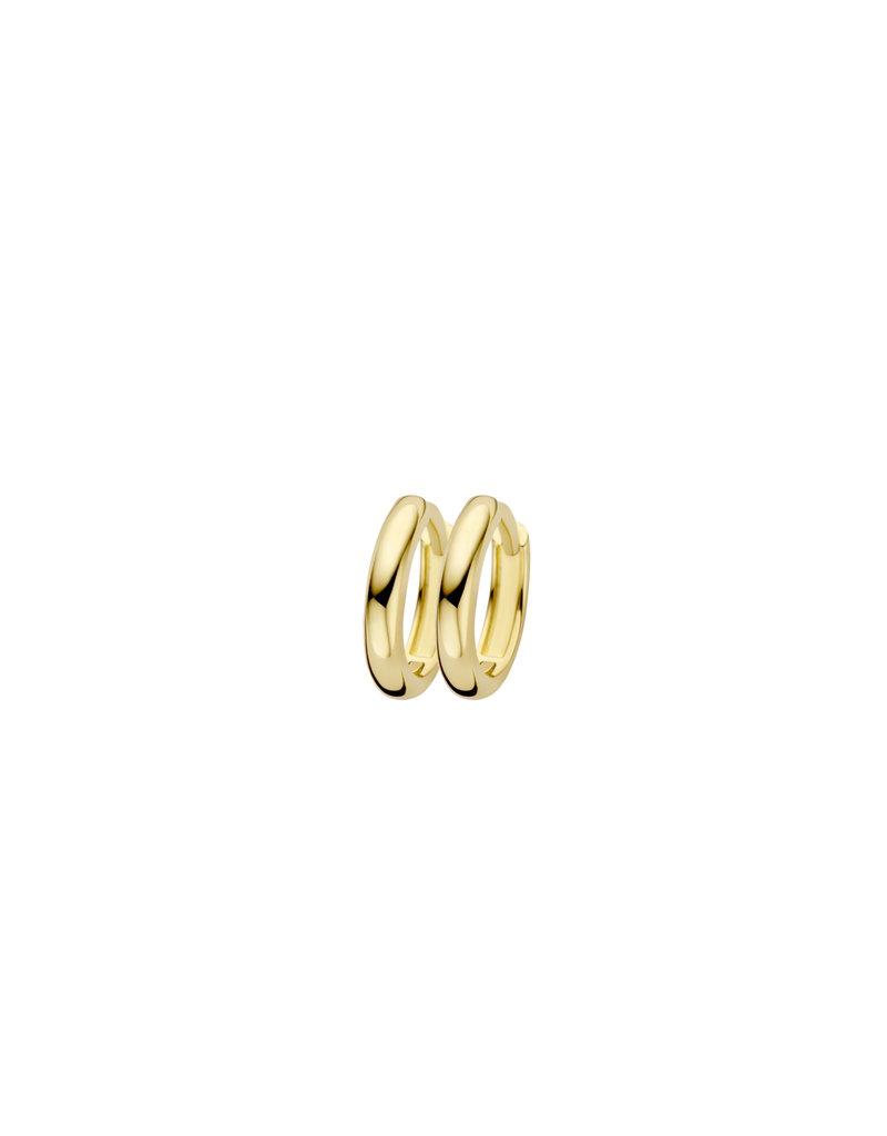 Blush Blush 7267YGO creolen dames 14 k goud geel