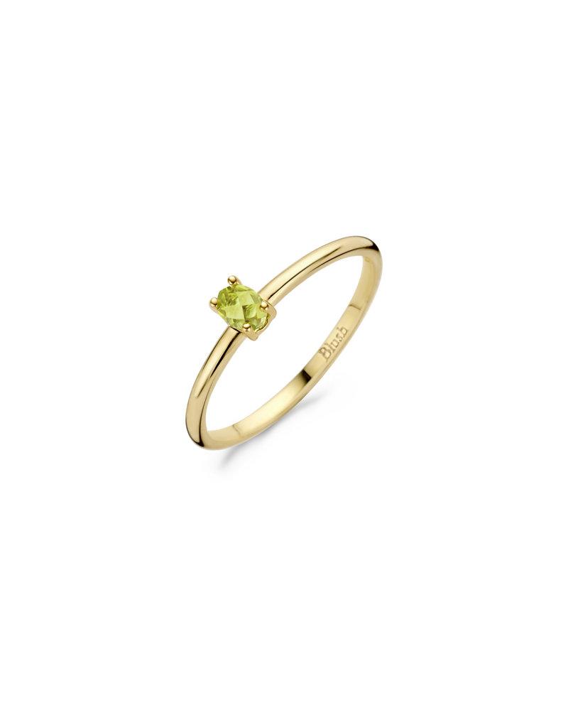 Blush Blush 1204YGP/52 ring dames 14 k goud met Peridot steen