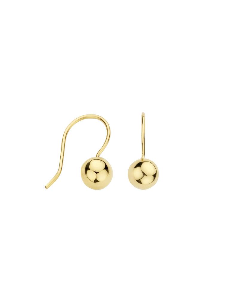 Blush Blush 7260YGO oorbellen / oorhangers dames 14 k goud bol goud