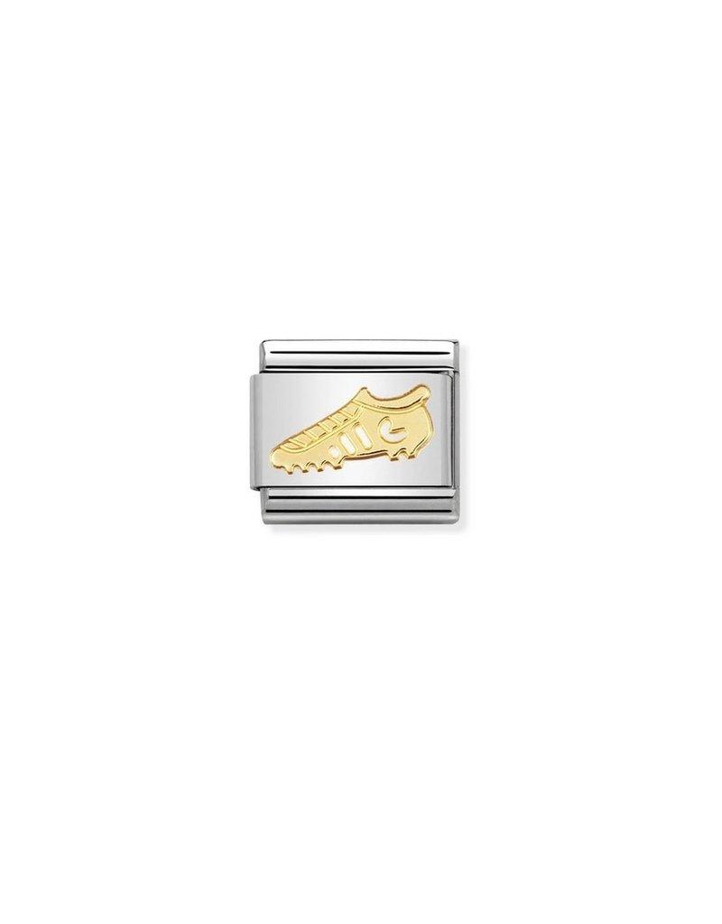 Nomination Composable 030106-04 Nomination classis goud voetbalschoen