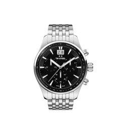 TW Steel TW Steel ACE311 horloge heren chronograaf staal Swiss Made met stalen band en saffierglas
