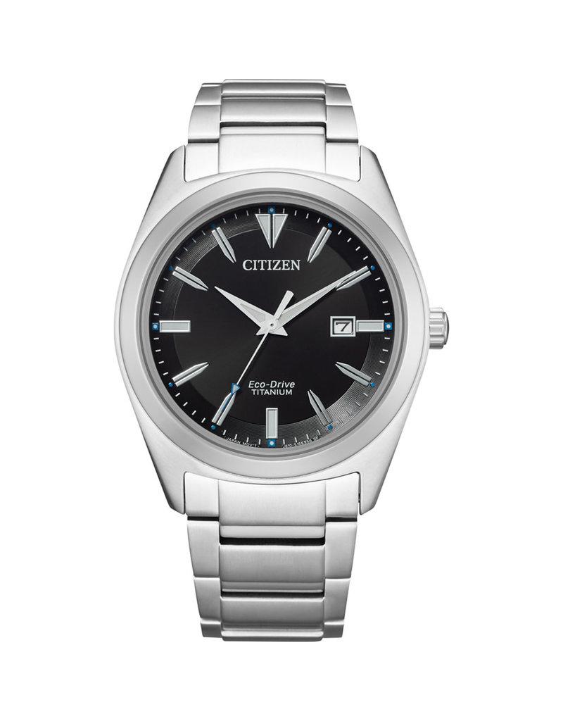 Citizen Citizen AW1640-83E horloge heren titanium ecodrive 3 hands