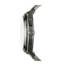 Fossil Fossil FS5830 horloge heren chronograaf staal titanium pvd plated met idem band en wijzerplaat