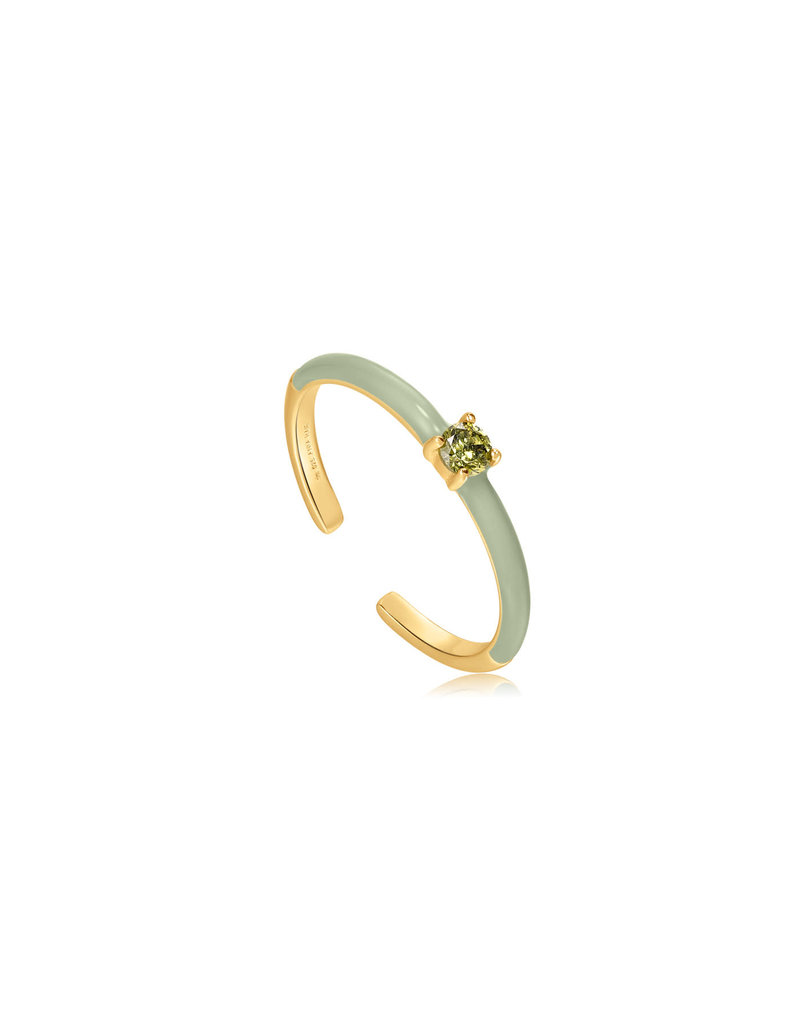 ANIA HAIE JEWELRY AH R028-03G-G Ring Bright future gold plated