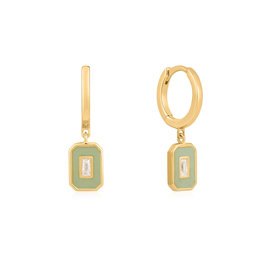 ANIA HAIE JEWELRY AH E028-03G-G Oorbellen hoops gold plated