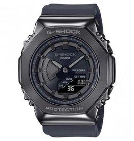 Casio G-Shock GM-S2100B-8AER horloge anadigi unisex met metalen kast in gun metal met kunststof band