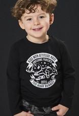 BLACK BUNNIES T-Shirt Jack (LM) Zwart Bunny