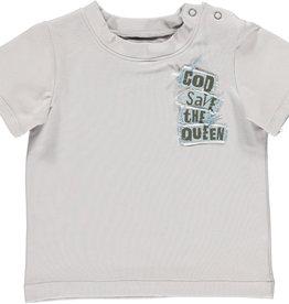 BLACK BUNNIES Black Bunnies T-Shirt Jack (KM) Grijs God Save The Queen