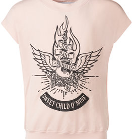 BLACK BUNNIES Shirt Dolores Roze Sweet Child Glitter