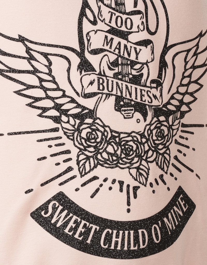BLACK BUNNIES Black Bunnies Shirt Dolores Roze Sweet Child Glitter