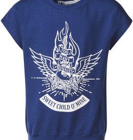 BLACK BUNNIES Shirt Dolores Blauw Sweet Child