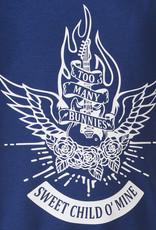 BLACK BUNNIES Black Bunnies Shirt Dolores Blauw Sweet Child