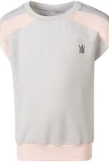 BLACK BUNNIES Black Bunnies Shirt Kate Grijs met Roze