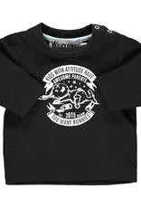 BLACK BUNNIES T-Shirt Jack (KM) Zwart Bunny