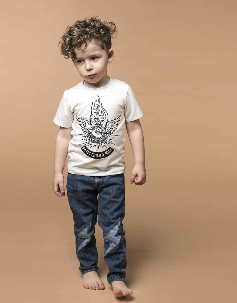 BLACK BUNNIES T-Shirt Jack (LM) Wit Sweet Child