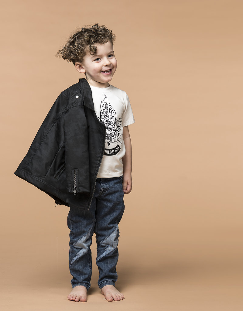 BLACK BUNNIES T-Shirt Jack (KM) Wit Sweet Child