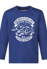 BLACK BUNNIES Black Bunnies T-Shirt Jack (LM) Blauw Bunny