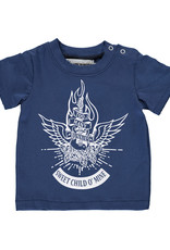 BLACK BUNNIES Black Bunnies T-Shirt Jack (KM) Blauw Sweet Child