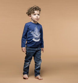 BLACK BUNNIES Black Bunnies T-Shirt Jack (LM) Blauw Sweet Child