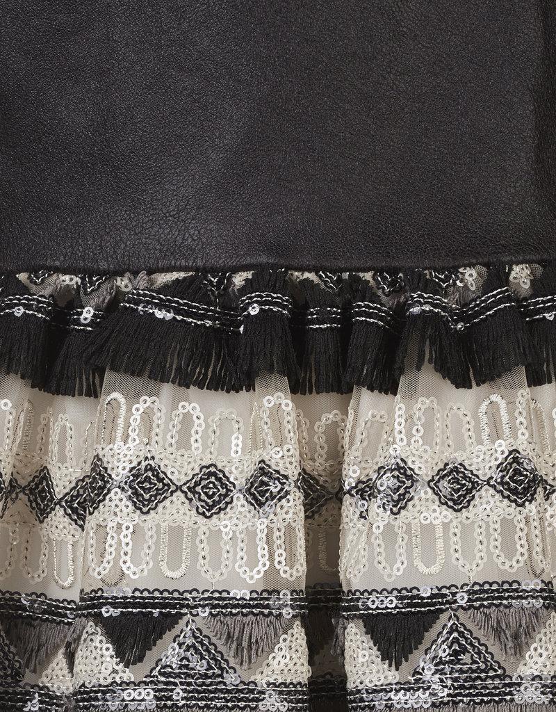 BLACK BUNNIES Black Bunnies Jurk Alice Pailletten