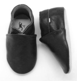 Stabifoot Stabifoot Babysoft babyslofjes zwart