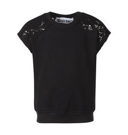 BLACK BUNNIES Black Bunnies Shirt Kate Lace zwart