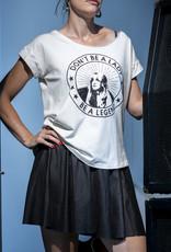 BLACK BUNNIES Shirt Jolene Wit Legend Zwart Glitter