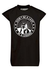 BLACK BUNNIES Shirt Axl Zwart Legends Wit
