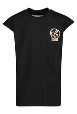 BLACK BUNNIES Shirt Axl Zwart Skull Gold