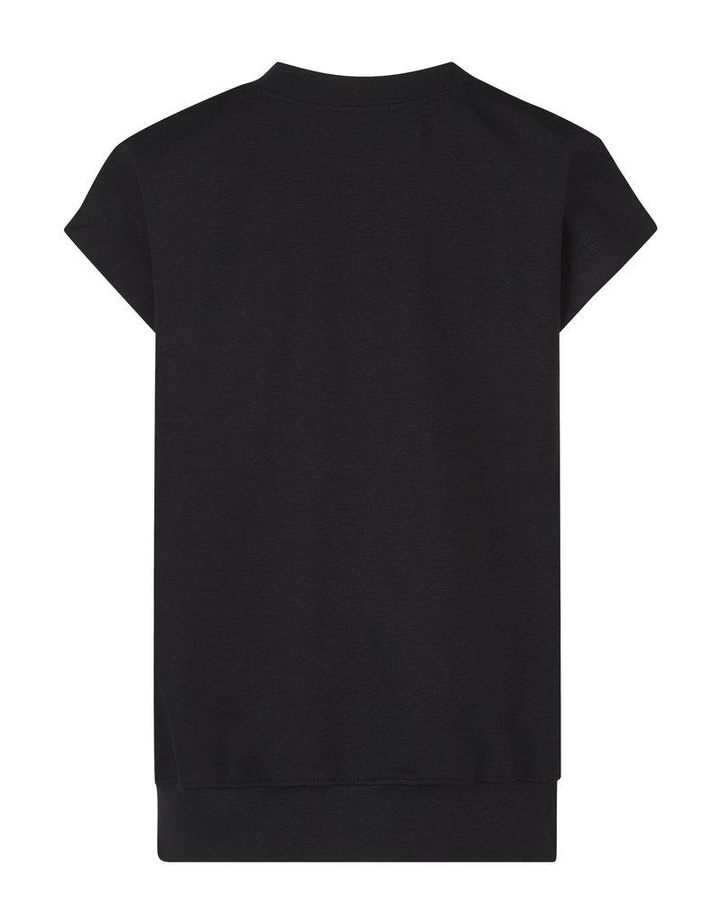 BLACK BUNNIES Shirt Dolores Zwart Bunny Glitter