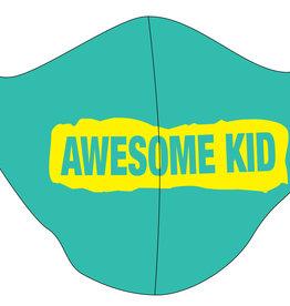 TOO MANY BUNNIES Mondmasker Awesome Kid Green