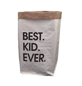 TOO MANY BUNNIES Paperbag XXL Best Kid Ever