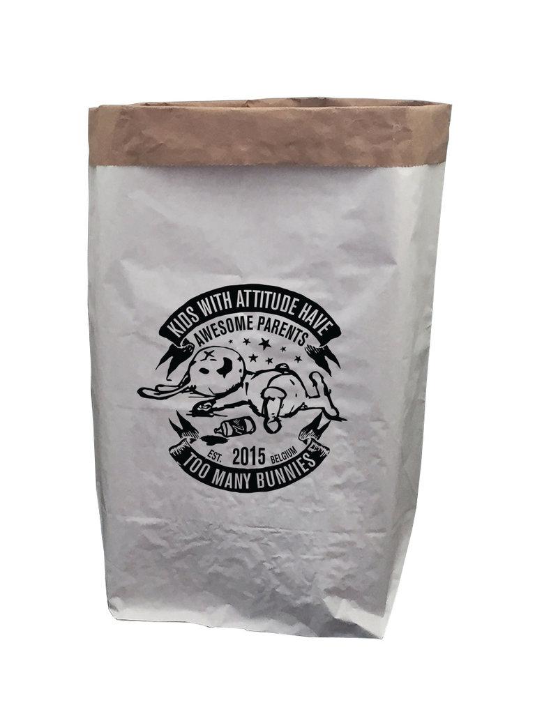 TOO MANY BUNNIES Paperbag XXL Bunny