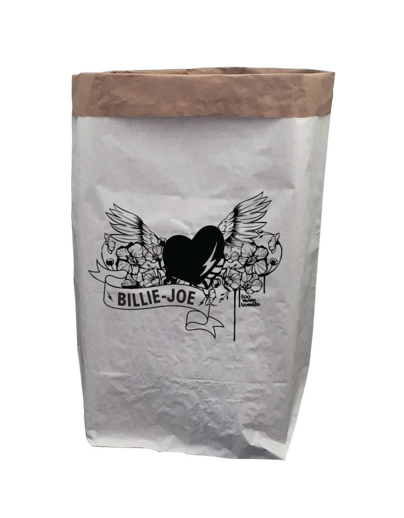 TOO MANY BUNNIES Paperbag XXL Rock Of Love met Voornaam