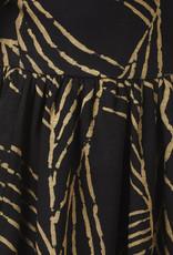 BLACK BUNNIES Jurk Alice Black Gold