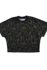 BLACK BUNNIES Sweater Jagger Sans Black Gold