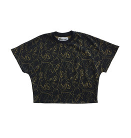 BLACK BUNNIES Sweater Jagger Sans Black Gold