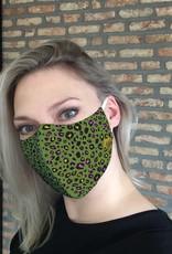 TOO MANY BUNNIES Mondmasker Green Panther