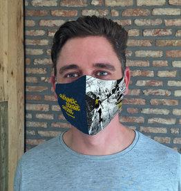 TOO MANY BUNNIES Mondmasker Authentic Street Artist