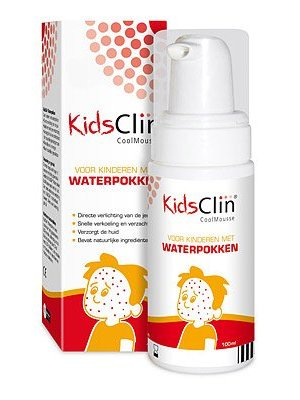 Kidsclin Kidsclin Waterpokken Coolmousse - 100 Ml
