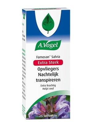 A.Vogel A.Vogel Famosan Salvia Extra Sterk - 25 Tabletten