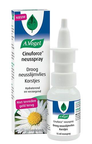 Image of A.Vogel A.Vogel Cinuforce Neusspray Droog Neusslijmvlies - 15 Ml