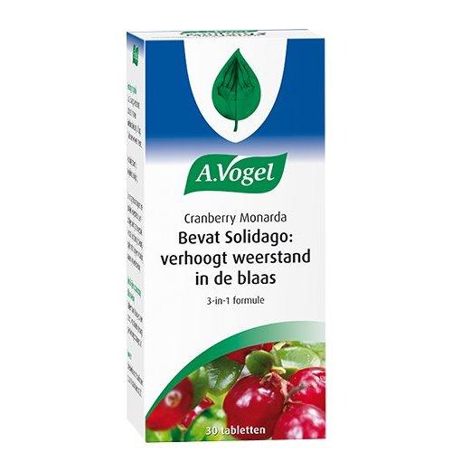 A.Vogel A.Vogel Cranberry Monarda - 30 Stuks