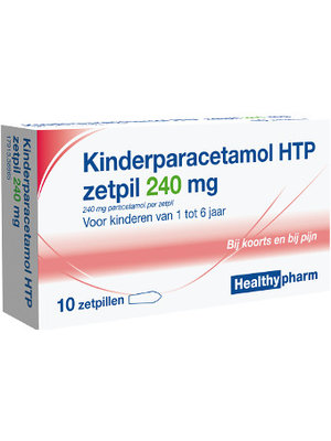Healthy Healthy Paracetamol Zetpil 240 Mg - 10 Sup