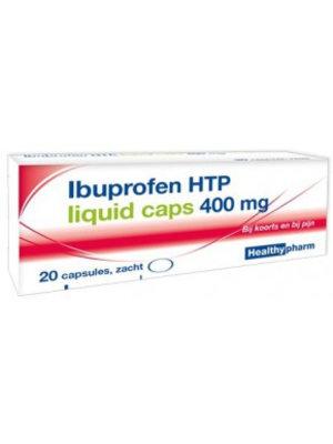 Healthypharm Ibuprofen 400mg Liquid - 20 Capsules