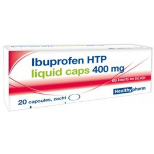 Healthypharm Healthypharm Ibuprofen 400mg Liquid - 20 Capsules